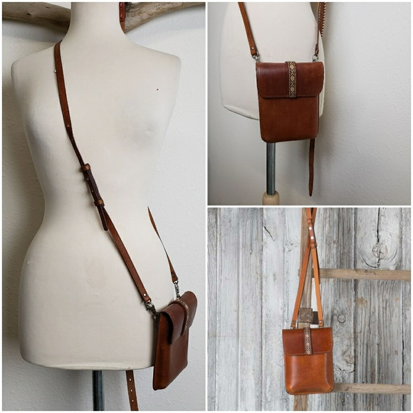 most wanted Handbags - Most wanted Aztec leather crossbody
